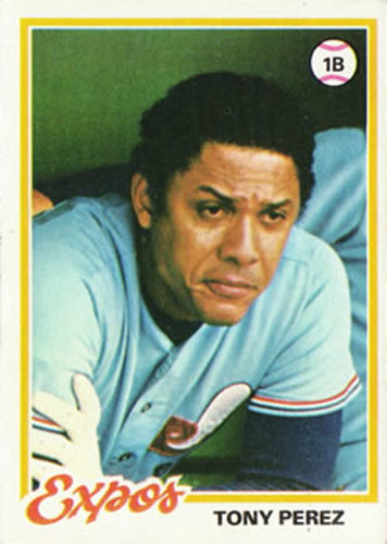 Photo of 1978 Topps #15 Tony Perez DP