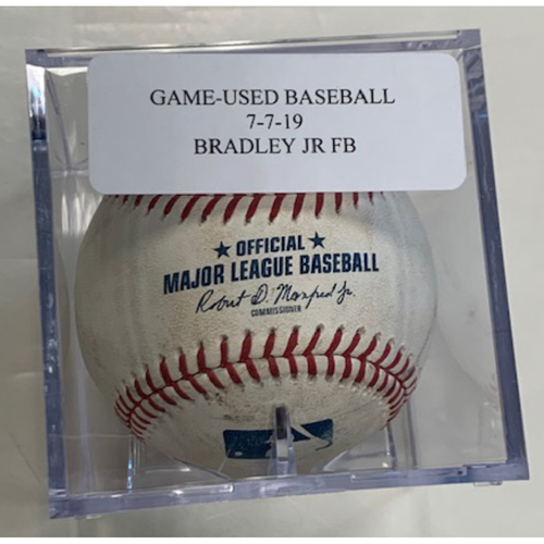 Photo of Game-Used Baseball: Jackie Bradley Jr. Foul Ball