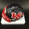 HOF - Chiefs Emmitt Thomas Signed Amp Alt Mini Helmet