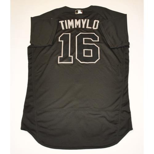 "Photo of Tim ""TIMMYLO"" Locastro Arizona Diamondbacks 2019 Game-Used Players' Weekend Jersey"