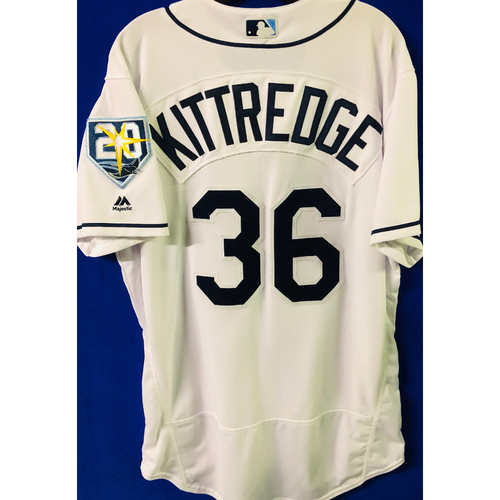 Game-Used Jersey: Andrew Kittredge (size 46) - September 24-27 (NYY) & September 28 (TOR)