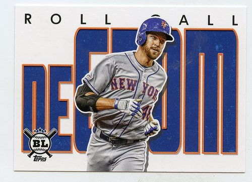 Photo of 2020 Topps Big League Roll Call #RC16 Jacob deGrom