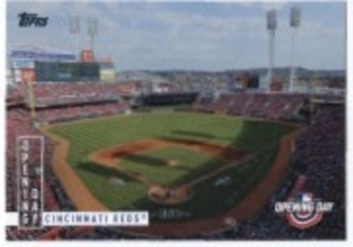 Photo of 2020 Topps Opening Day Opening Day #OD1 Cincinnati Reds