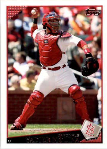 Photo of 2009 Topps #172 Yadier Molina