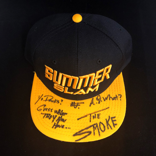 Street Profits SIGNED SummerSlam Winners Series Hat