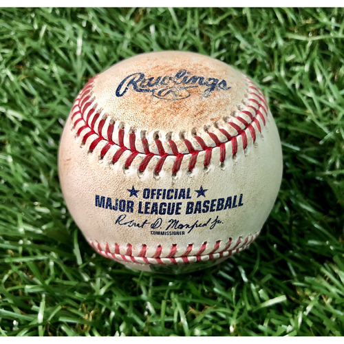 Photo of Game Used Baseball: Joey Wendle double off Ken Giles - Joey Wendle's First Hit of Season - July 26, 2020 v TOR