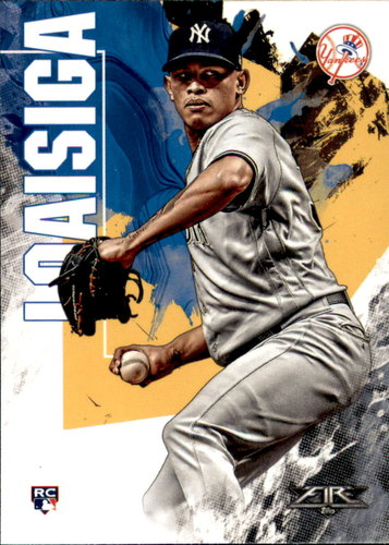 Photo of 2019 Topps Fire #20 Jonathan Loaisiga RC