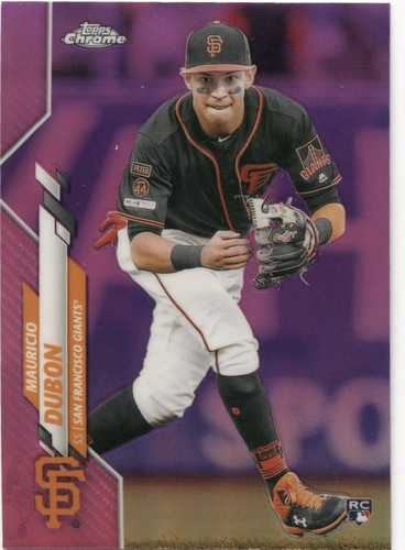 Photo of 2020 Topps Chrome Pink Refractors #168 Mauricio Dubon