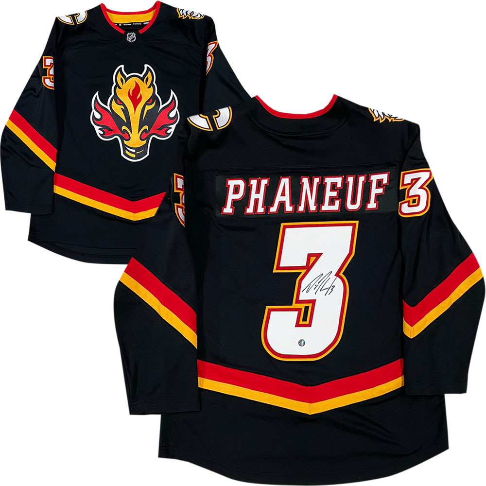 Dion Phaneuf Autographed Calgary Flames Special Edition Fanatics Jersey