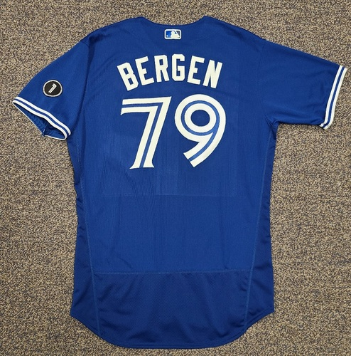 Photo of Authenticated Team Issued Jersey: #79 Travis Bergen (2020 Season). No Set. Size 46.