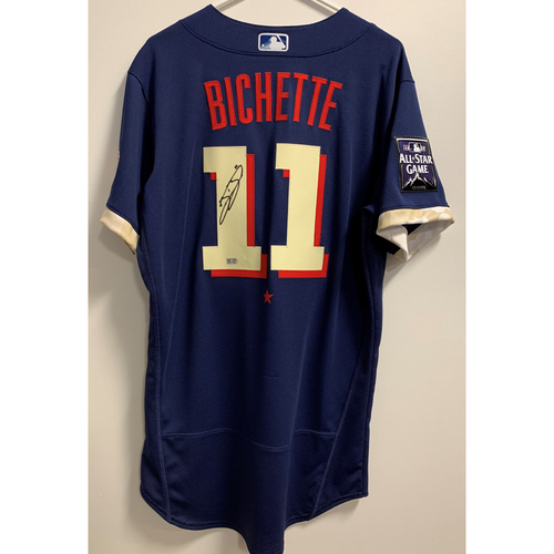Photo of Bo Bichette 2021 Major League Baseball All-Star Game Autographed Jersey