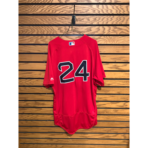 Photo of David Price Team Issued 2018 Home Alternate Jersey