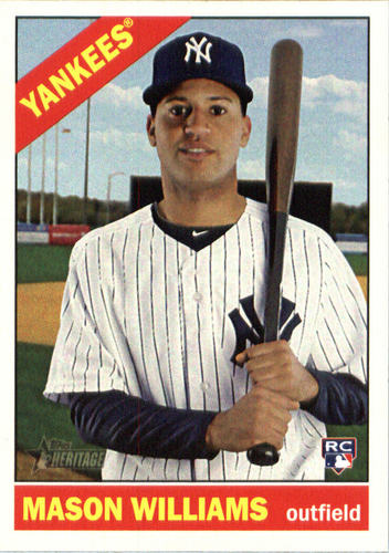 Photo of 2015 Topps Heritage #589 Mason Williams RC