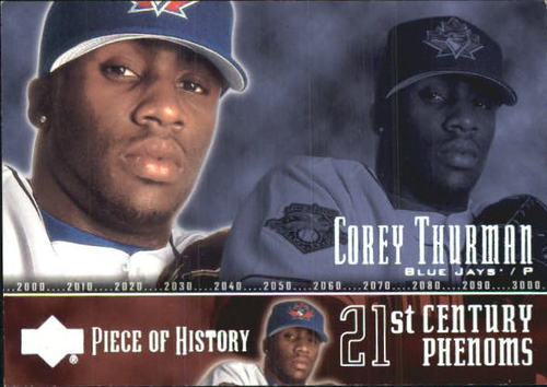 Photo of 2002 UD Piece of History #94P Corey Thurman 21CP RC