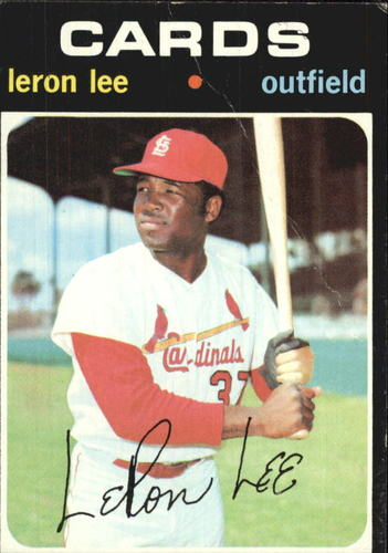 Photo of 1971 Topps #521 Leron Lee