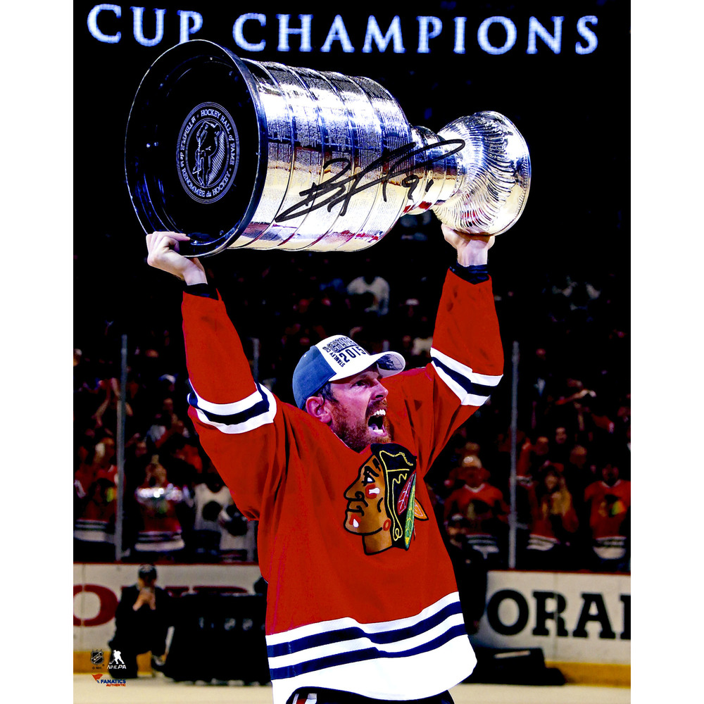 Brad Richards Chicago Blackhawks 2015 Stanley Cup Champions Autographed 8