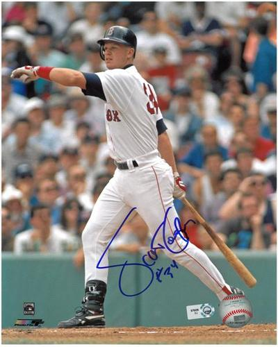Photo of Scott Cooper Autographed Red Sox 8x10 Photo