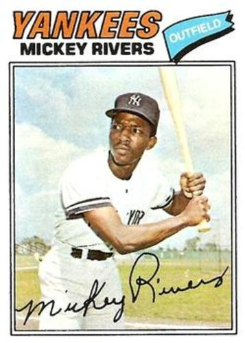 Photo of 1977 Topps #305 Mickey Rivers