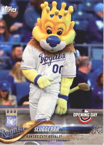 Photo of 2018 Topps Opening Day Mascots #M1 Sluggerrr