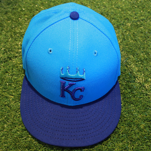 Photo of Game-Used Players' Weekend Cap: Rosell Herrera (Size 7 1/2 - CLE @ KC - 8/26/18)