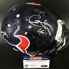 NFL - TEXANS WR KEKE COUTEE SIGNED TEXANS REVOLUTION HELMET