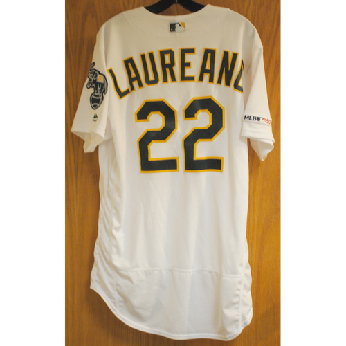 Photo of Ramon Laureano Game Used No-Hitter 5/7/19 Jersey