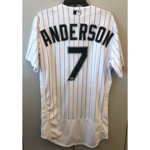 Photo of Compton Youth Academy Auction: Tim Anderson Autographed Chicago White Sox Jersey