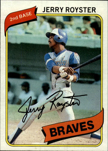 Photo of 1980 Topps #463 Jerry Royster