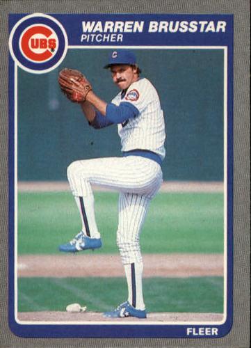 Photo of 1985 Fleer #51 Warren Brusstar