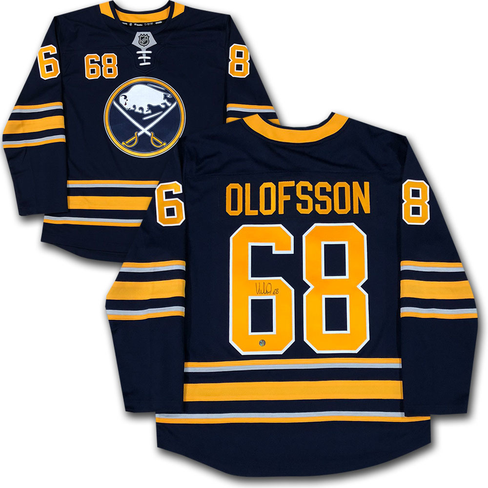 Victor Olofsson Autographed Buffalo Sabres Fanatics Jersey