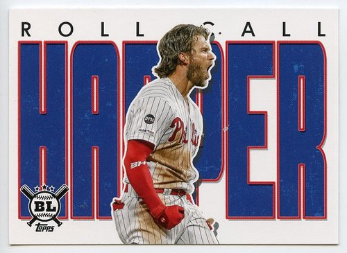 Photo of 2020 Topps Big League Roll Call #RC17 Bryce Harper