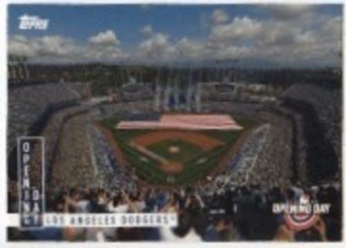 Photo of 2020 Topps Opening Day Opening Day #OD3 Los Angeles Dodgers