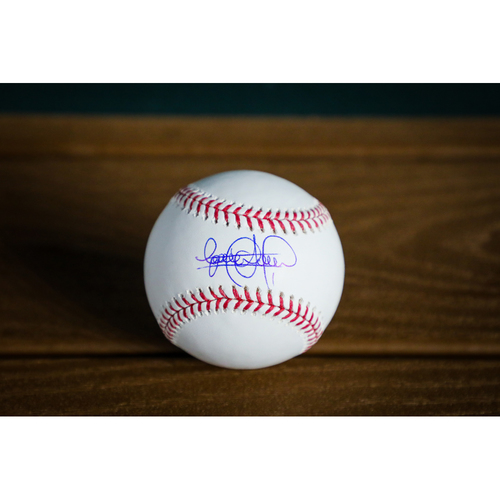 Photo of Elvis Andrus Autographed Baseball