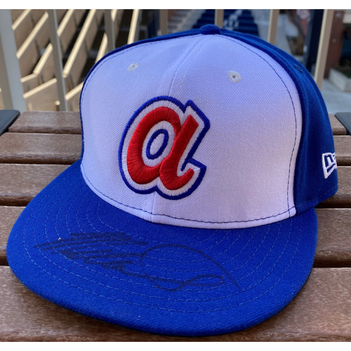 Photo of Mike Soroka Autographed 1974 Throwback Hat