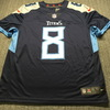 Titans - Marcus Mariota Signed Replica Jersey Size L