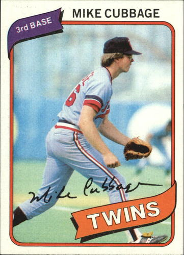 Photo of 1980 Topps #503 Mike Cubbage