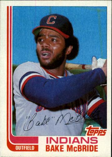 Photo of 1982 Topps Traded #69T Bake McBride