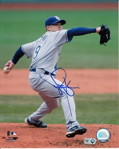 Photo of Scott Kazmir Autographed 8x10