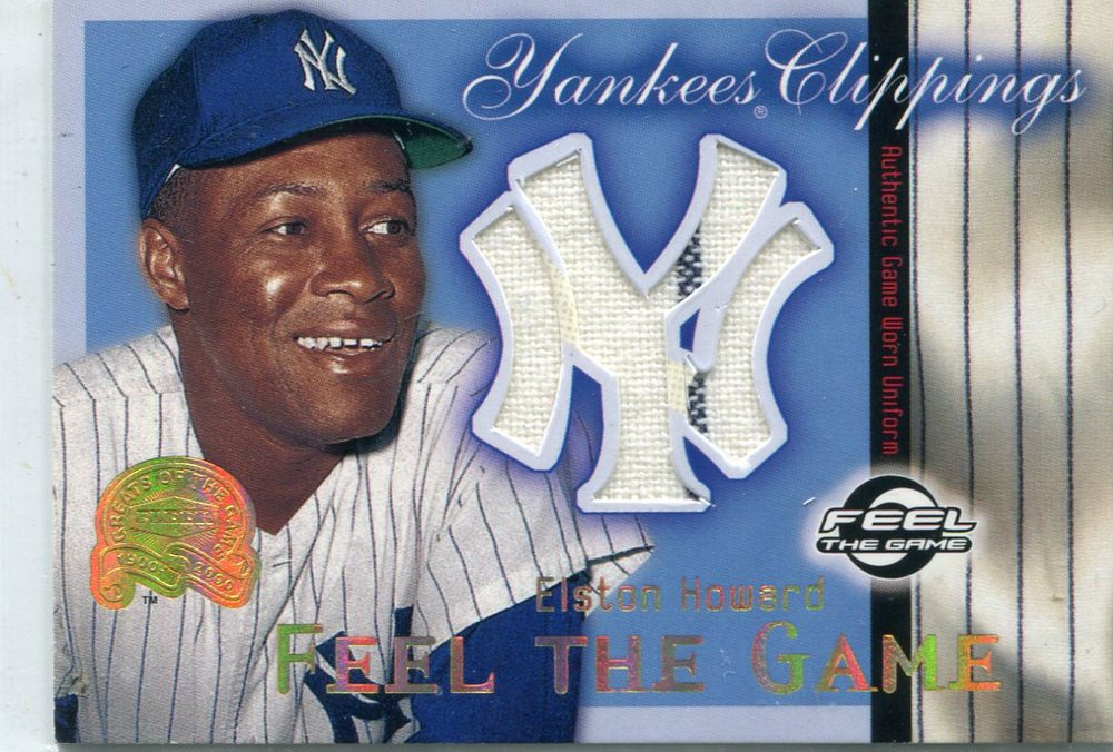 2000 Greats of the Game Yankees Clippings #YC4 Elston Howard