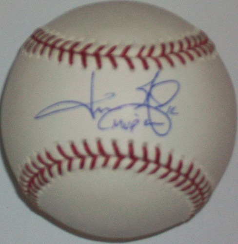 "Photo of Jason Giambi ""MVP 2000"" Autographed Baseball"
