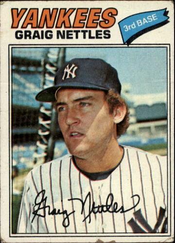 Photo of 1977 Topps #20 Graig Nettles