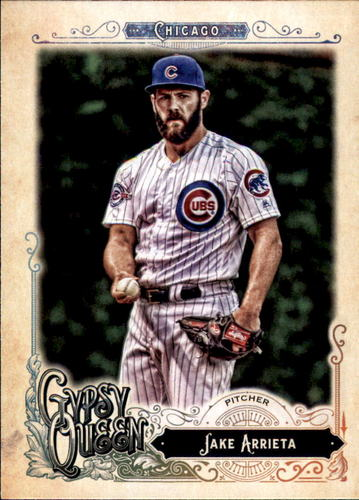 Photo of 2017 Topps Gypsy Queen #235 Jake Arrieta