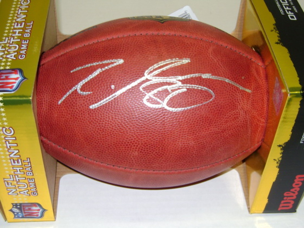 NFL - BROWNS RICARDO LOUIS SIGNED AUTHENTIC FOOTBALL
