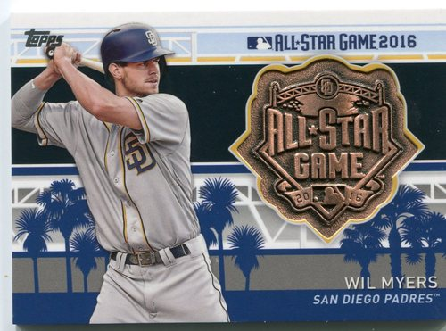 Photo of 2017 Topps All Star Team Medallions  Wil Myers