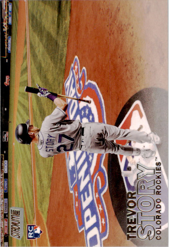 Photo of 2016 Stadium Club #159 Trevor Story Rookie Card