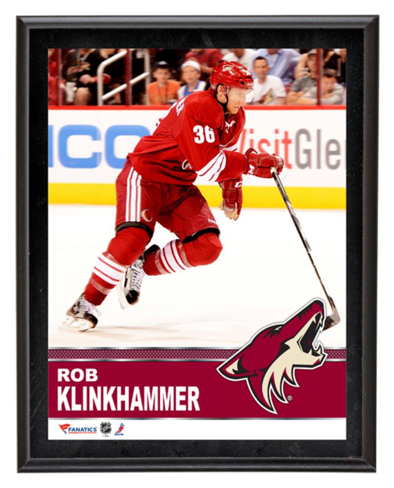Rob Klinkhammer Arizona Coyotes Sublimated 10