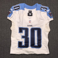 CRUCIAL CATCH - TITANS JASON MCCOURTY GAME USED TITANS JERSEY - OCTOBER 11, 2015