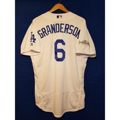 Curtis Granderson Home 2017 Team-Issued Post Season Jersey