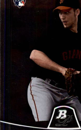 Photo of 2010 Bowman Platinum #73 Madison Bumgarner Rookie Card