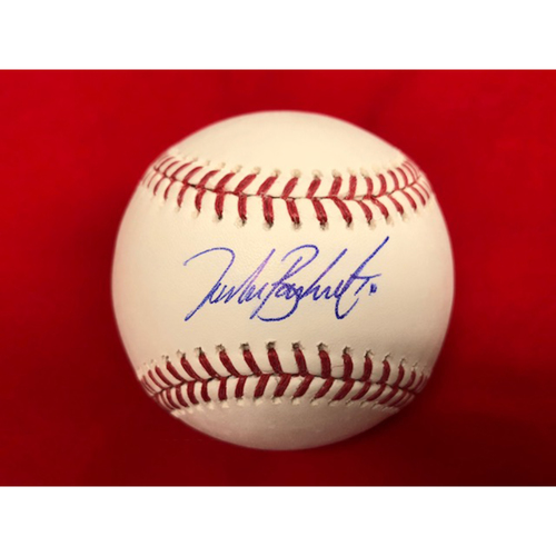 Photo of Tucker Barnhart -- Autographed Baseball